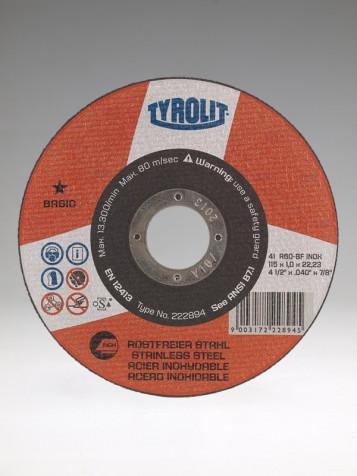 Řezný kotouč A60-BF INOX BASIC