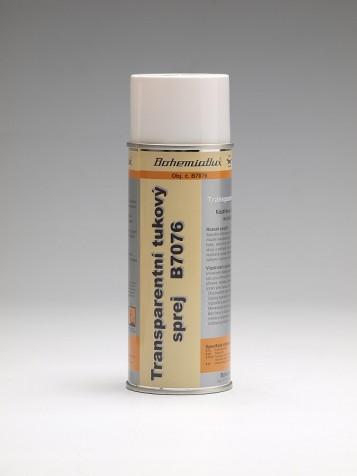 B7076 Transparentní tukový sprej
