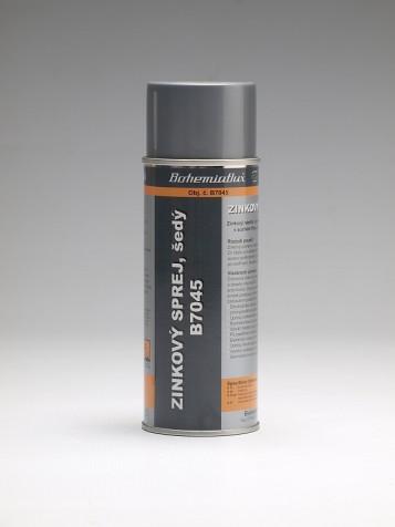 B7045 Zinkový sprej, šedý