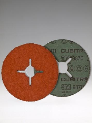 3M 987C FD P 60+ Inox, 115x22mm+, br. kot.fíbrový,Cubitron II
