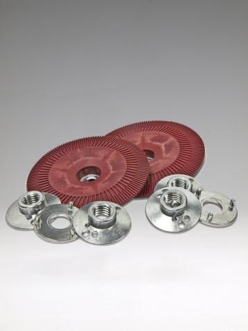 3M Fibre Disc BUP Ribbed Red,115mm-vrubový