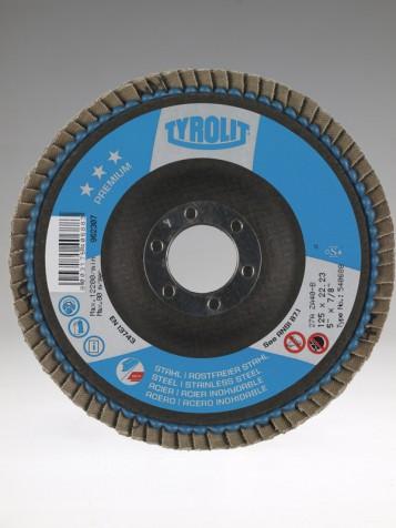 Lamelový talíř zkosený 125x22, 60, T ZA60-B PREMIUM 2IN1