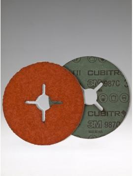 3M 987C FD P 80+ Inox, 125x22mm+, br. kot.fíbrový,Cubitron II,27650