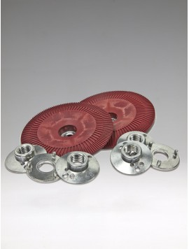 3M Fibre Disc BUP Ribbed Red,125mm-vrubový, 64861