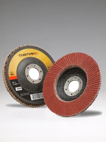 Flap Disc 967A P 80+ , 115x22mm Cubitron II, lamelový kot.-šikmý,65053,10/ctn
